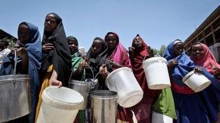 La ONU advirtió que en Somalía miles de niños desnutridos van a morir de hambre