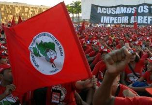 Campesinas del Movimiento Sin Tierra ocuparon la hacienda del millonario Eike Batista