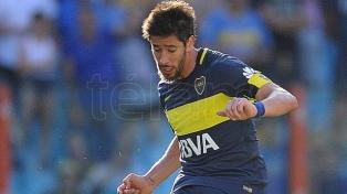 Pablo Pérez, en duda para recibir a Talleres por una molestia muscular