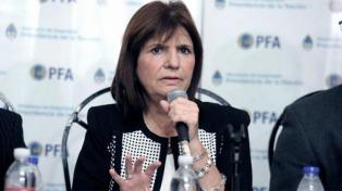"""Itatí: Bullrich dijo que la banda contaba con """"complicidades"""" de distintos sectores"""