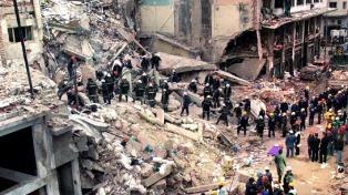 Atentado a la AMIA: buscan determinar si restos no identificados pueden ser de un presunto terrorista suicida