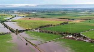 Ayuda a municipios bonaerenses en emergencia hídrica