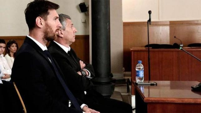 España: ratifican condena contra Messi por evasión fiscal