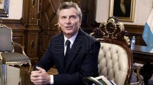 Macri recibe a dirigentes de la Unión Industrial Argentina