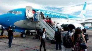 Aerolíneas Argentinas transportó 8,5 millones de pasajeros entre enero y agosto