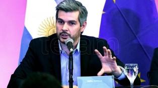 Marcos Peña aseguró en Trelew que la Patagonia es la región del Siglo XXI