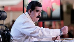 """Maduro acusó a Santos de dirigir """"mafias"""" contra la moneda de su país"""