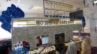 �Los trabajadores del Garrahan tienen tatuado el hospital en la piel y eso es impagable�