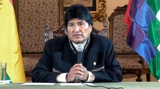 """Evo Morales destacó que la Superfinal es el partido """"más importante"""" de la historia"""