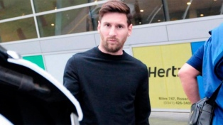 Messi regresó a los entrenamientos tras las eliminatorias
