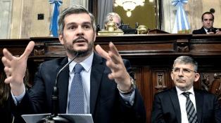 Marcos Peña dará su último informe de gestión del año en el Senado