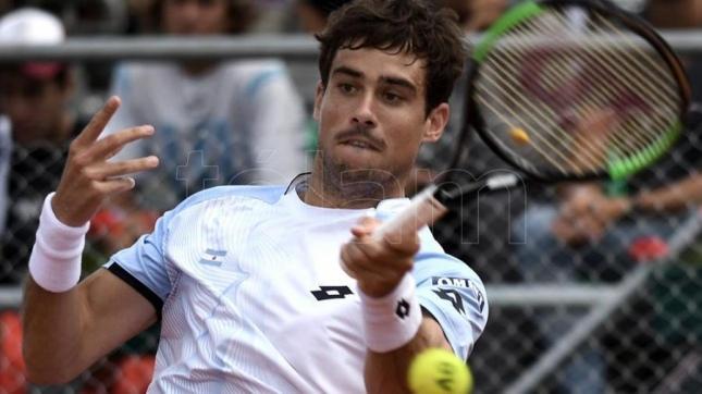 El argentino Guido Pella supera la primera ronda en San Petersburgo