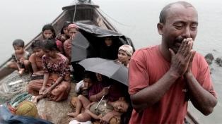 Los budistas birmanos bloquearon ayuda para desplazados rohingyas