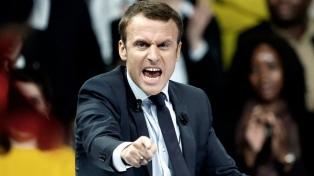 """Macron propuso la creación de una """"fuerza europea de intervención"""" militar"""