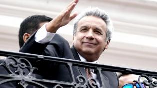 """Lenín Moreno, """"orgulloso"""" de los ecuatorianos por la jornada electoral en paz"""