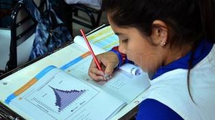 La participación en las pruebas Aprender fue del 97% en la provincia