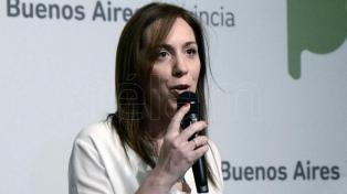 """Hoy es un día histórico"", aseguró María Eugenia Vidal"
