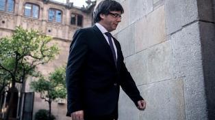 Puigdemont renunció a ser candidato a presidente catalán y señaló a Jordi Sánchez