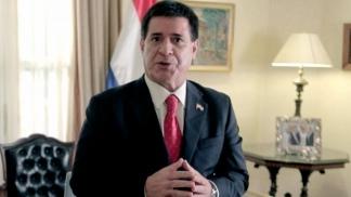 Horacio Cartes, presidente de Paraguay