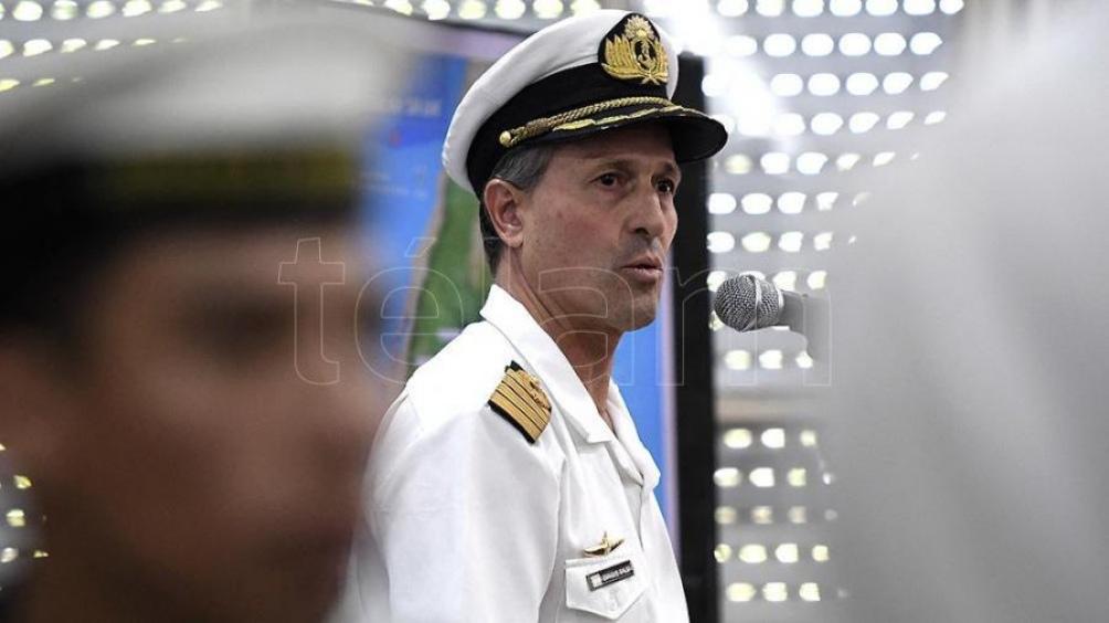 Trasladan a Estados Unidos al vocero de la Armada — ARA San Juan