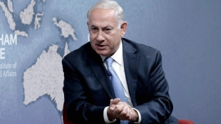 Breve internación de Netanyahu por una infección respiratoria