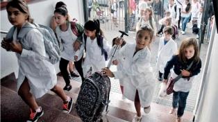 Educación: nueve provincias no tendrán los 180 días de clase que establece la ley