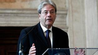 """El premier Gentiloni aseguró que Europa teme al """"riesgo"""" de una victoria populista"""