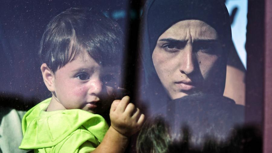 Más de cinco millones de niños sirios tuvieron que abandonar sus casas por la guerra