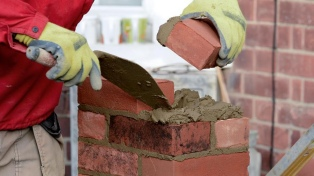 El empleo formal en la construcción aumentó 9,1% en febrero