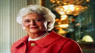 Murió la ex primera dama estadounidense Barbara Bush