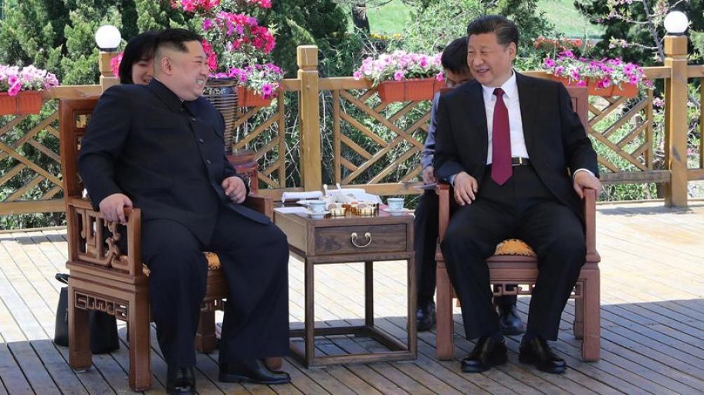 Kim cerró su visita a China con una nueva reunión con Xi