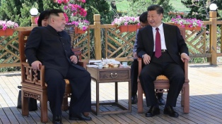 Kim concluyó su visita a China y crece la expectativa de un nuevo encuentro con Trump