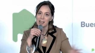 """""""Son tiempos donde todos tenemos que tirar del mismo carro"""", dijo María Eugenia Vidal"""