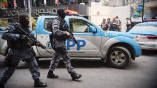 Pese a la intervención militar, 51 policías fueron asesinados en Río de Janeiro