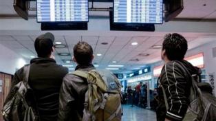 Aeroparque: comenzaron las partidas pero espaciadas cada diez minutos