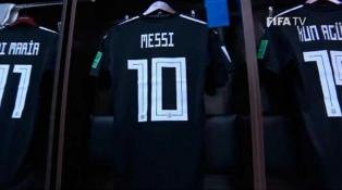 Argentina tiene todo listo en el vestuario y se aproxima el debut