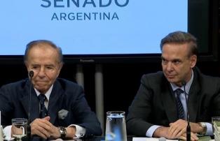Menem renueva su apoyo a Pichetto como candidato presidencial peronista en 2019