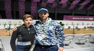 Facundo Firmapaz, el primer argentino de la competencia, finalizó 12mo. en carabina