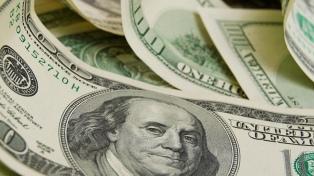 El dólar cayó por debajo de $43,50