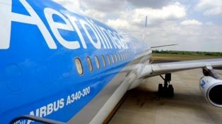 Aerolíneas Argentinas canceló todos sus vuelos del próximo lunes