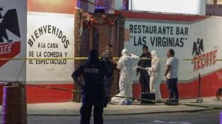 Siete personas murieron en un tiroteo en un bar de Playa del Carmen