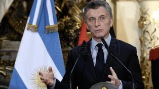 Macri hará un anuncio esta tarde desde Casa de Gobierno