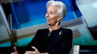 """La tensión ente China y EE.UU. """"amenaza la economía mundial"""", alertó Lagarde"""