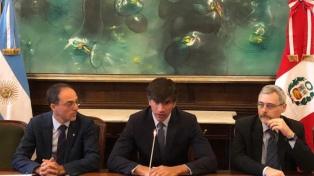 Argentina y Perú comenzaron a negociar en Buenos Aires la ampliación de acuerdo comercial
