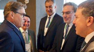 Dujovne y Lopetegui se reunieron con el secretario de Energía de EE.UU.