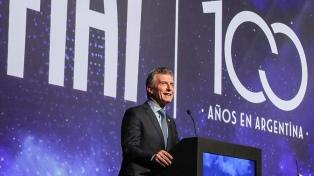 """Macri: """"El mundo está ahí ofreciendo oportunidades"""""""