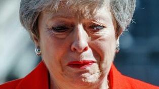 Renunció Theresa May y anunció que dejará el cargo el 7 de junio próximo