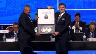 La Conmebol echó a Claudio Tapia del Consejo de la FIFA