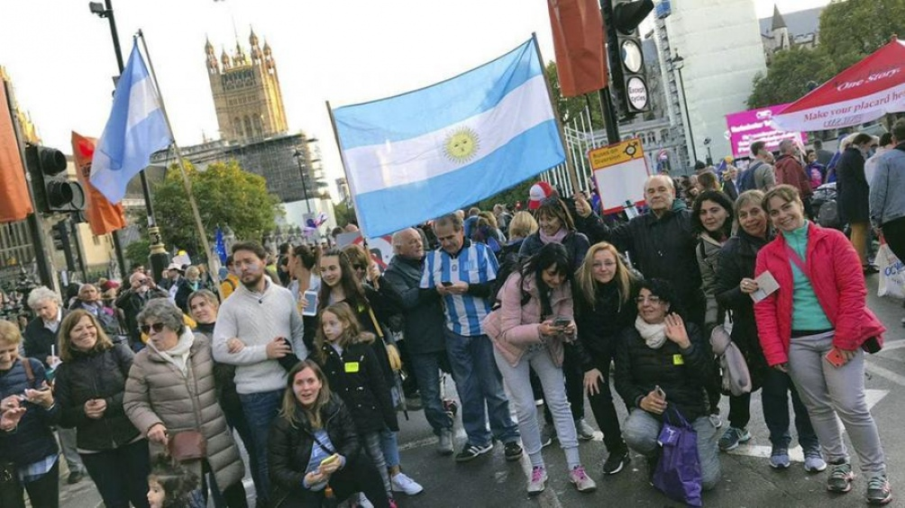 Marcha en Londres