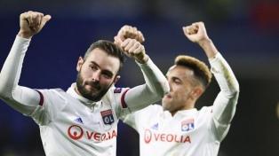 Lyon, con lo justo, derrotó a Juventus